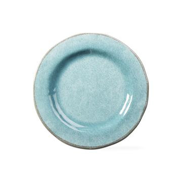 Aqua Melamine Salad Plate