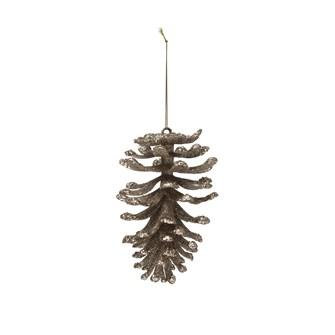 Pinecone Champagne Ornament