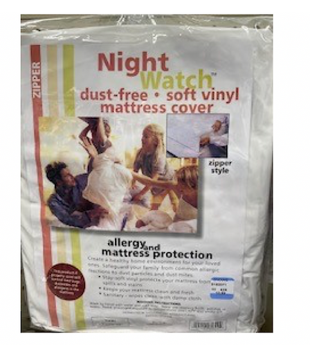 Vinyl Mattress Cover - Twin
