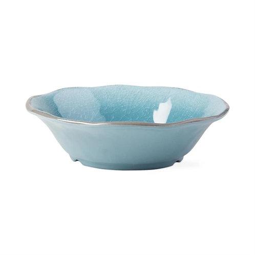 Aqua Melamine Bowl