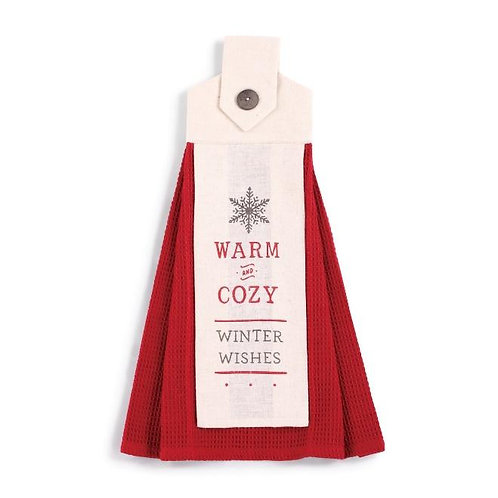 Warm & Cozy Button Loop Towel