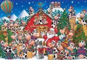 Christmas Cow Party Advent Calendar