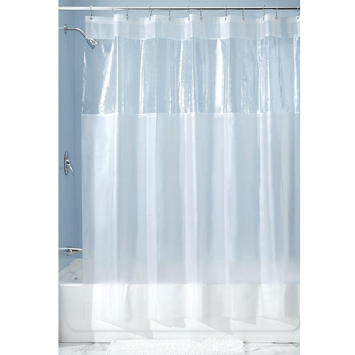 HITCHCOCK CLEAR SHOWER CURTAIN