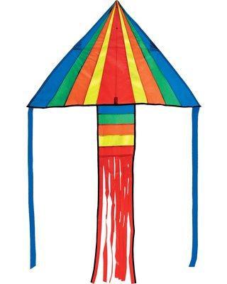 Mini Delta Rainbow Kite