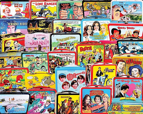 PUZZLE 1000 TV LUNCH BOXES