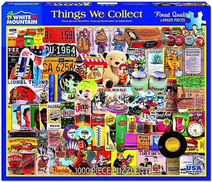 PUZZLE 1000 THINGS WE COLLECTED
