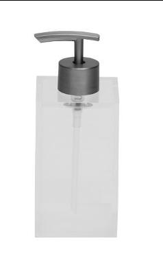 Metropolis Soap Pump - White
