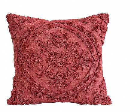 Chenille Plum Pillow