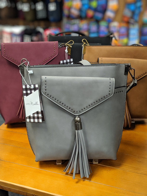 Simply Noelle Rivet 2-in-1 Messenger Bag