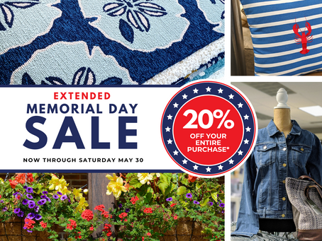 Extended Memorial Day Sale
