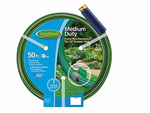 """Garden Hose 5/8""""x50' - Medium Duty"""
