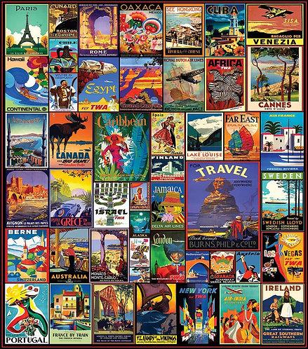 PUZZLE 550 TRAVEL WORLD DISC