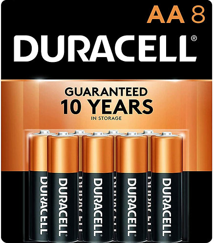 Duracell AA Batteries (8 pack)