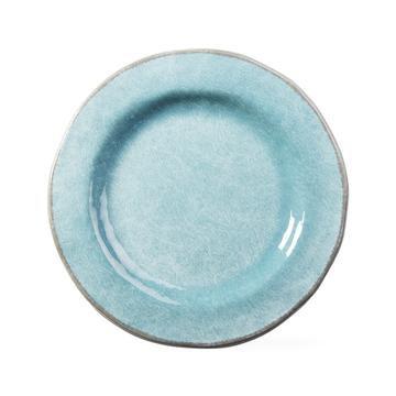 Aqua Melamine Dinner Plate