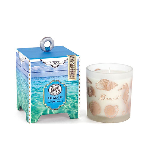 CANDLE, BEACH,   SOY WAX