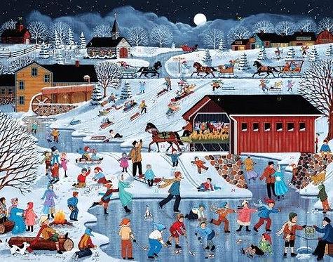 More Snow Coming Advent Calendar