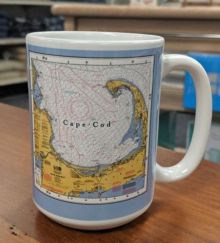 Cape Cod Map Mug