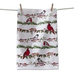 Bird & Berries Dish Towel