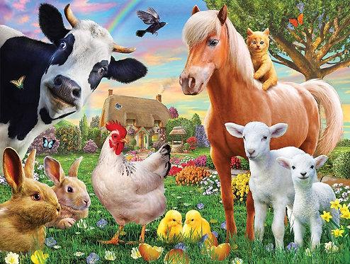 PUZZLE 300 FARM ANIMALS