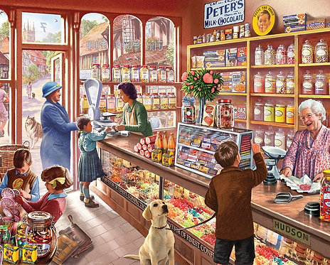 PUZZLE 1000 OLD CANDY STORE