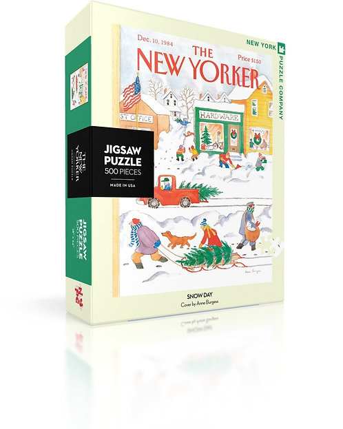 PUZZLE 500 SNOWY DAY