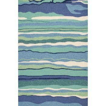 OCEAN LAGOON HARBOR HAND- TUFTED 5X7.6