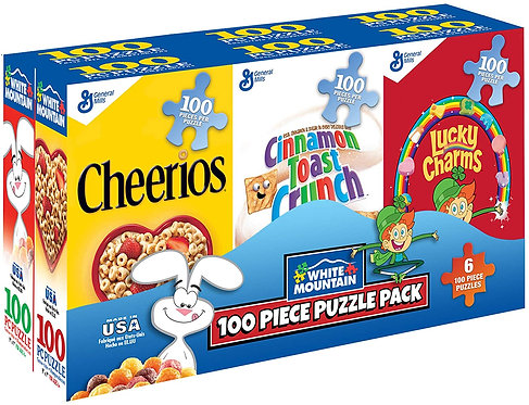 PUZZLE 100 CEREAL BOXES