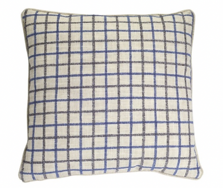 Decorative Grid Pillow