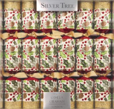 Pine Cones & Berries Christmas Crackers