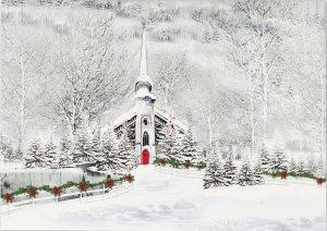 Snowy Steeple - Box (20 cards)