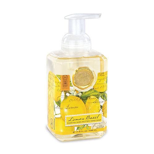 SOAP, FOAMING LEMON/BASIL