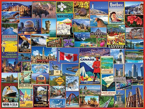 PUZZLE 100 BEST PLACES CANADA