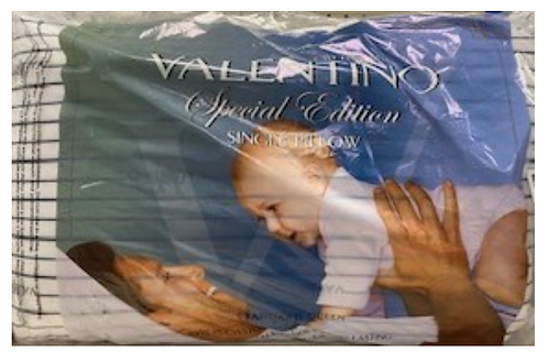 Valentino Special Edition Pillow - Standard/Queen