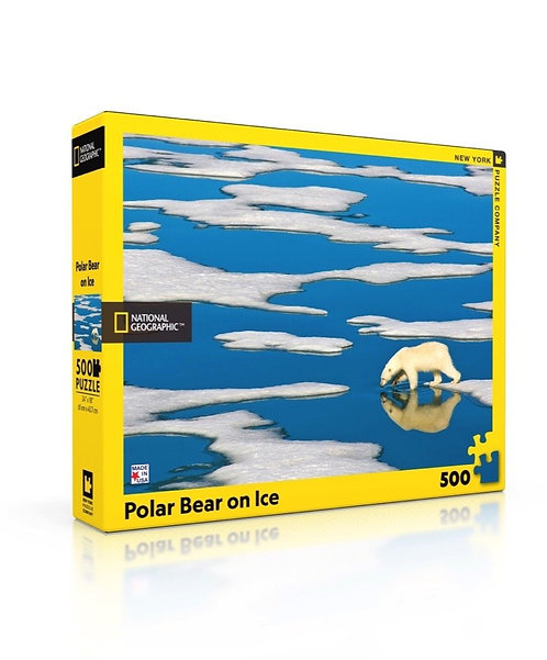 PUZZLE 500 BEAR ON ICE