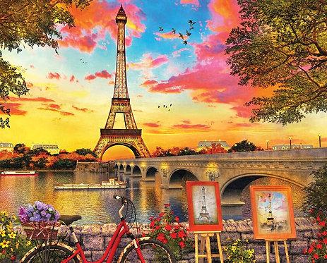 PUZZLE 1000 PARIS SUNSET