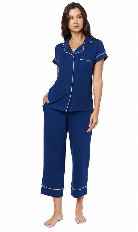 CATS PAJAMAS - Marine Blue Pajama (Capri)