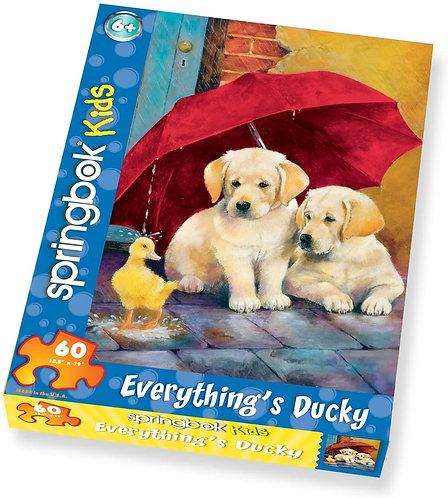 Springbok Kids - 60 piece Everything's Ducky Puzzle
