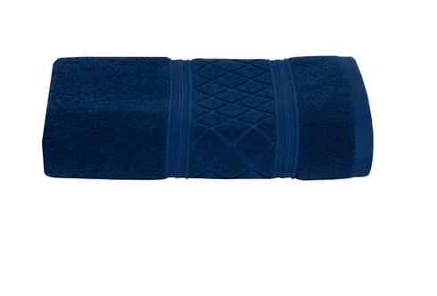 Radiance Bath Towel - Navy