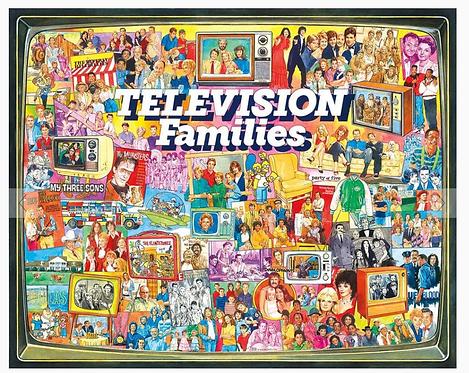 PUZZLE 1000 TV FAMILIES