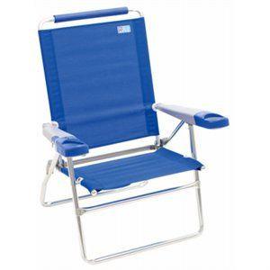 Extended Seat Beach Chair (asst. colors)