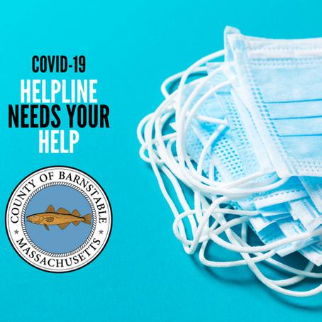 Seeking volunteers for COVID-19 helpline
