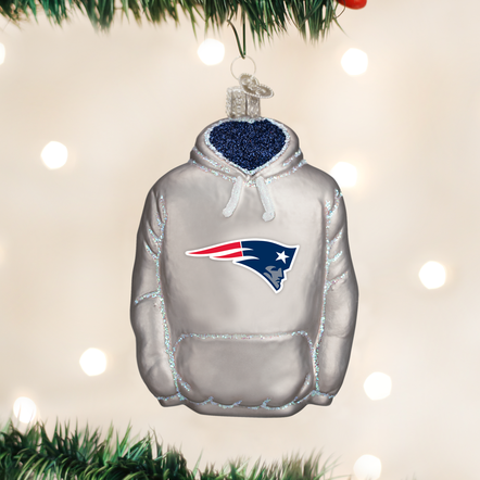 Old World Christmas Patriots Hoodie Ornament