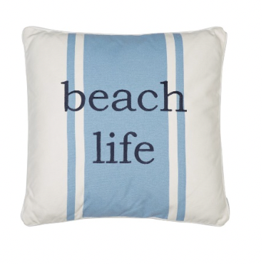 St. Bart Beach Life Pillow