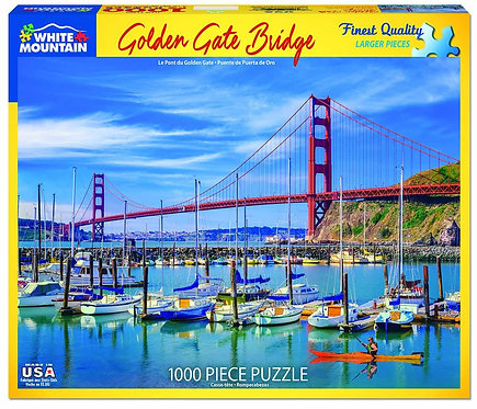 PUZZLE 1000 GOLDEN GATE BRIDGE