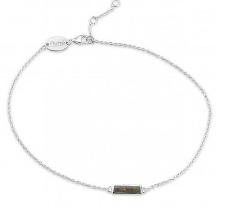 DUNE JEWELRY - Delicate Dune Turquoise Bar Anklet