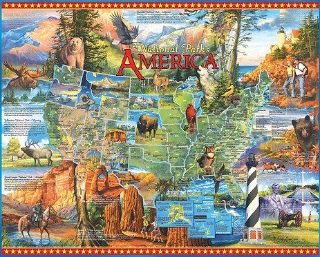 PUZZLE 1000 NATIONAL PARKS