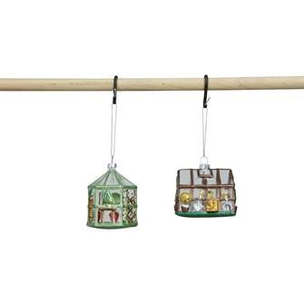 Glass Greenouse Ornament (EACH)