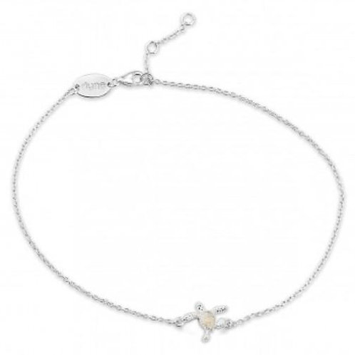 DUNE JEWELRY - Delicate Dune Turtle Anklet