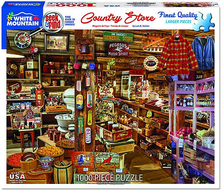PUZZLE 1000 COUNTRY STORE SEEK-F