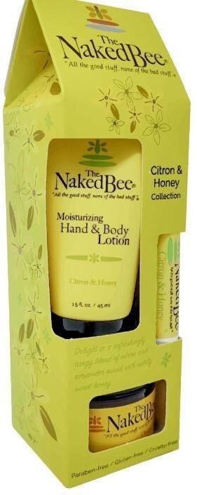 NAKED BEE - Assorted Citrus & Honey Gift Set